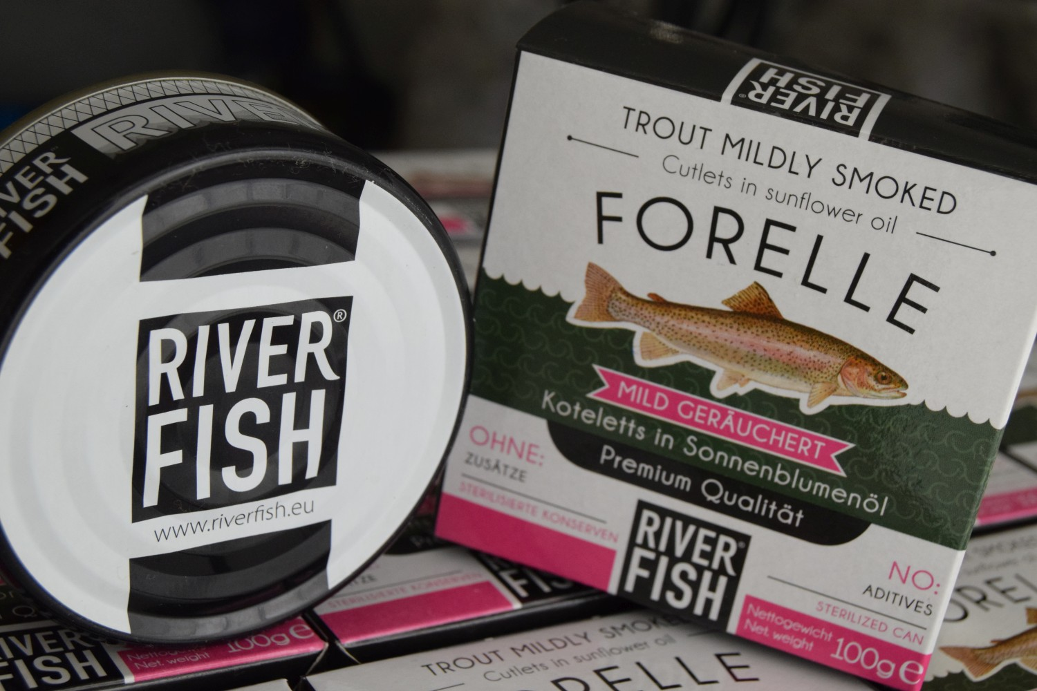 riverfish - Forellenkoteletts mild geräuchert